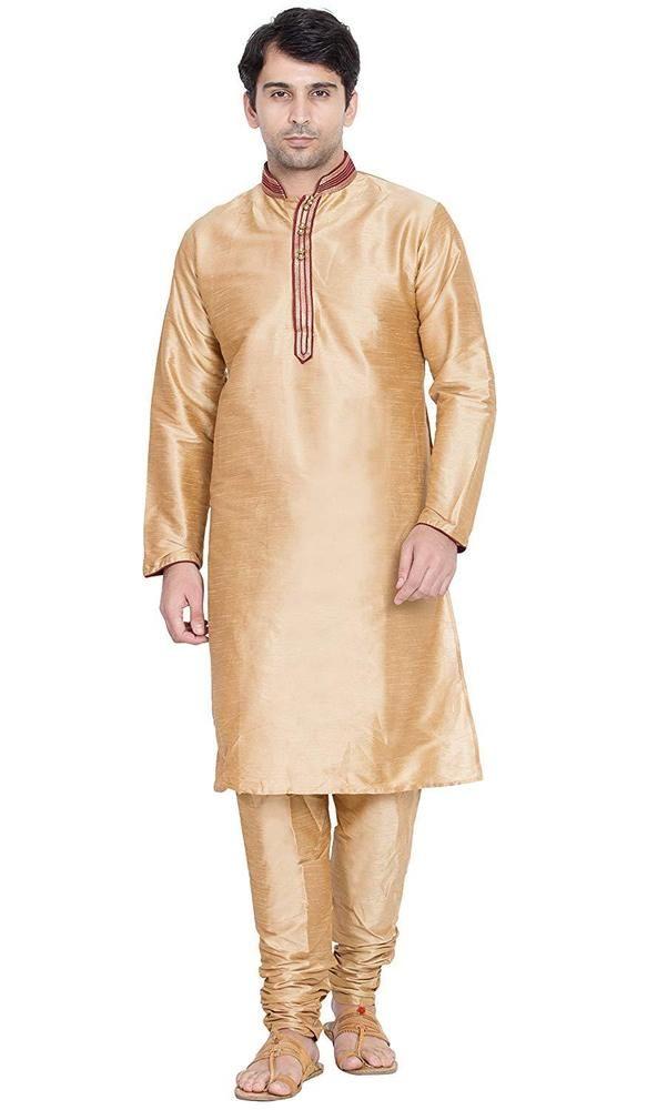 Indian Kurta Pajama Dress For Man/'S Kurta Pajama Set Traditional Party Wear