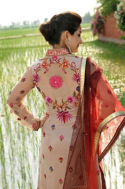 Punjaban in punjabi dress @ Rangla PUNJAB India