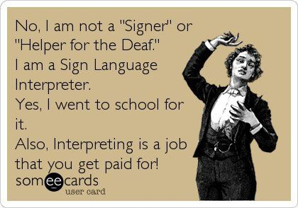 Sign Language Interpreter - I need to make this into a button and wear it!