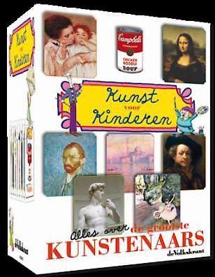 Kunst Voor Kinderen - DVD box - Spotted by Milledoni