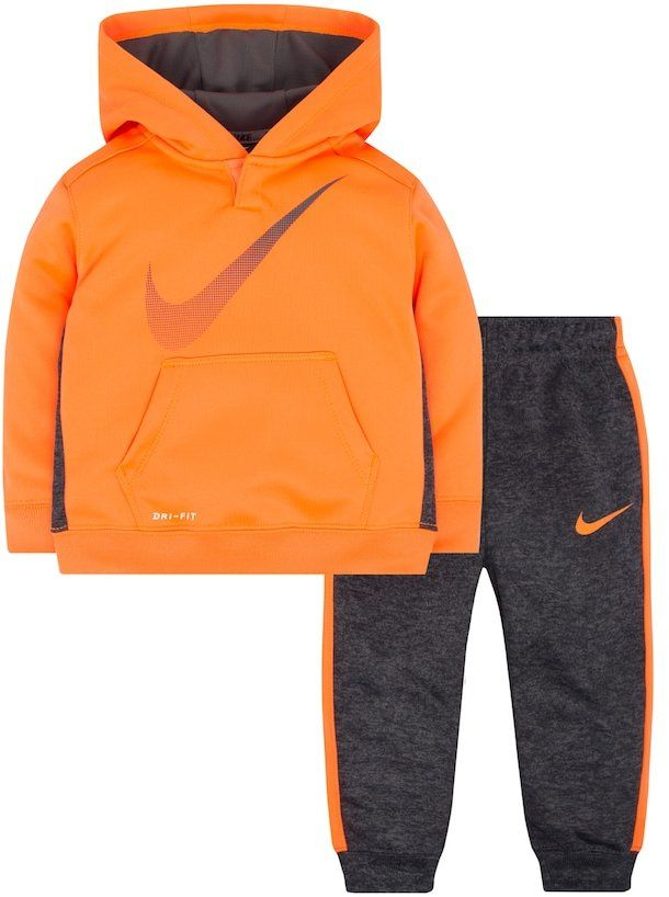 74263b6601e4 Baby Boy Nike Therma Pullover Hoodie   Pants Set