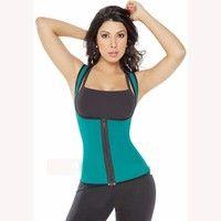 Ultra Sweat Hot women sport corset sweat clothes both side wearable zipper vest Priced US$ 19 freeship