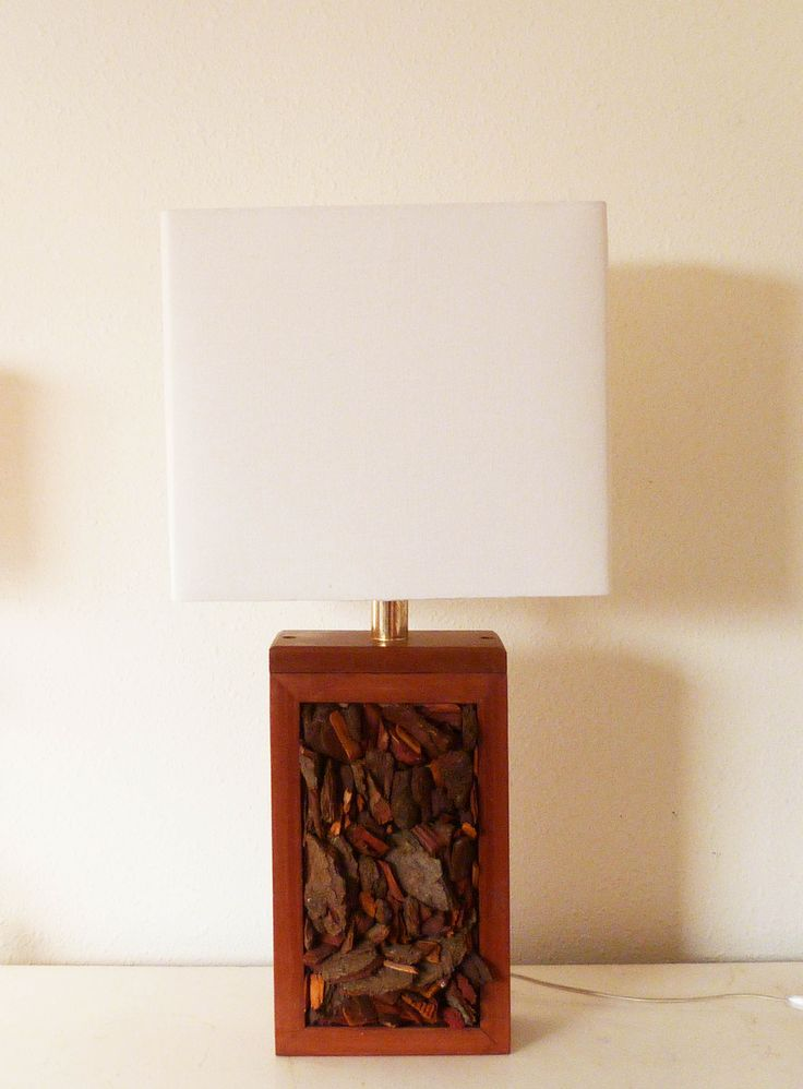 Lámpara Corteza Vertical