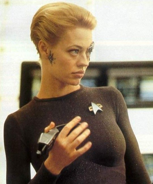 Star Trek Voyager - On set with Jeri Ryan (Seven of Nine).