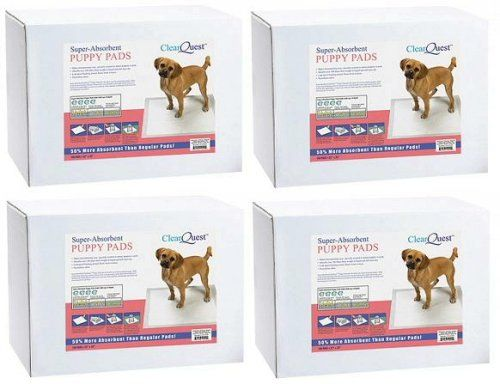 ClearQuest 400 22x23 4 Cup Puppy Training Pads