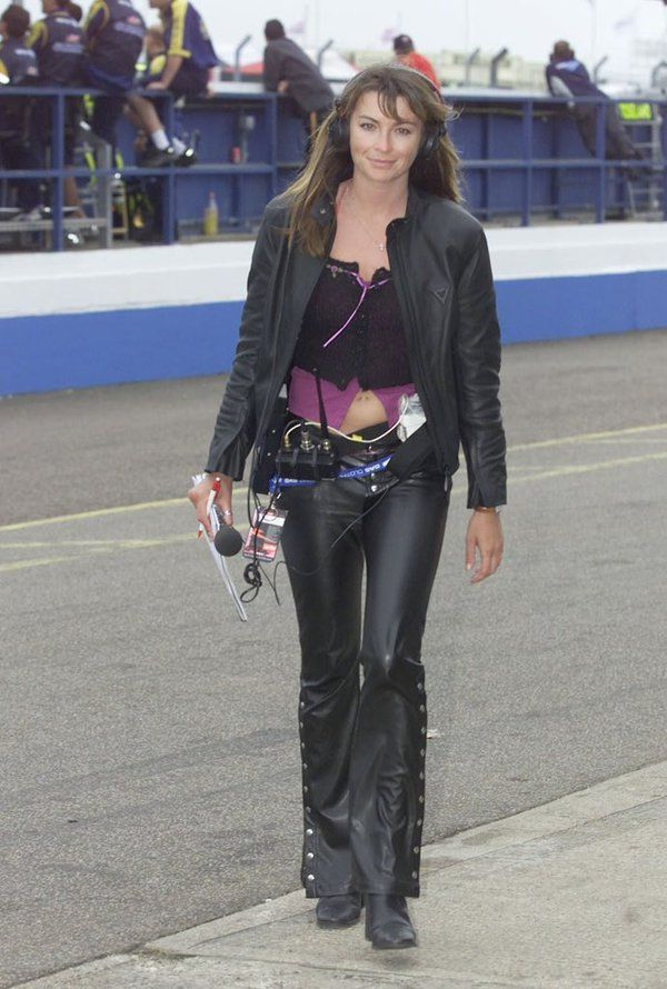 Hot Celebs Theeedger Twitter Suzi Perry Leather