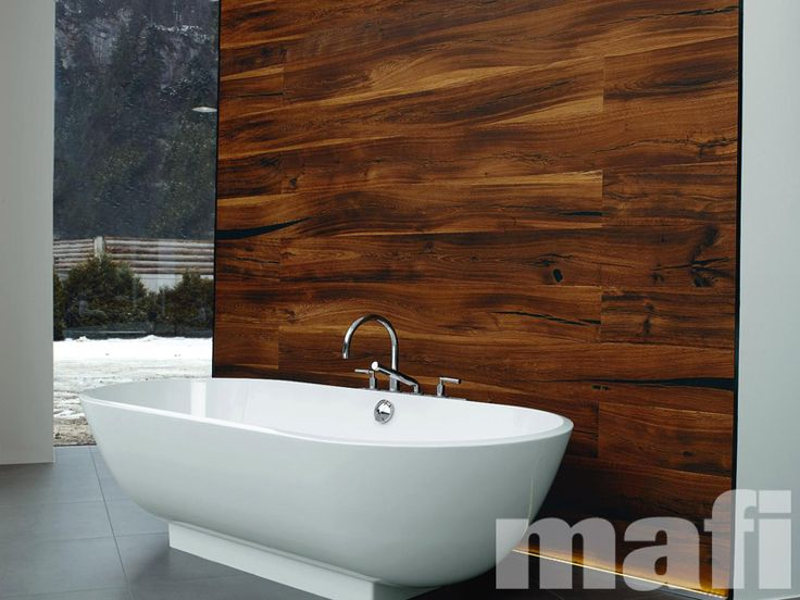 Tiger Oak Brushed Natural Oil | Timber floorboards and wall paneling | Bathrooms | mafi