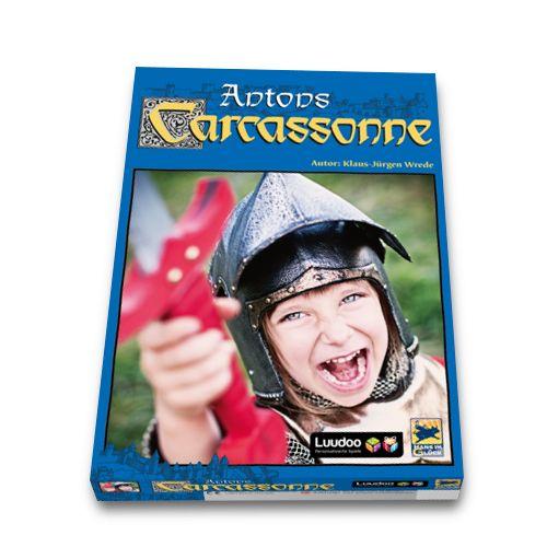 Individuelle Brettspiele von Luudoo als Geschenk für alle Anlässe: Carcassonne