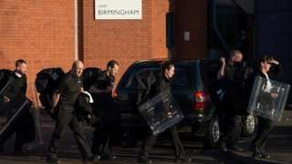 Birmingham Bedford and Lewes prison riots followed 'low staffing warnings'