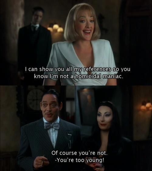 the addams family quote - Google Search | adam family ...