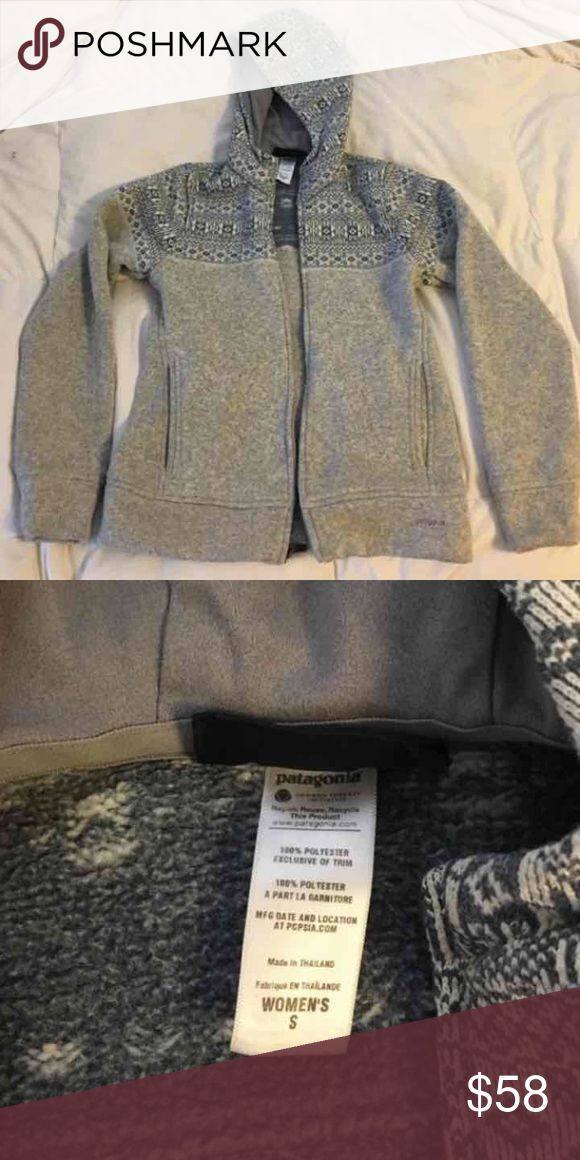 Patagonia fleece jacket Perfect condition very warm! I love this jacket Patagonia Jackets & Coats