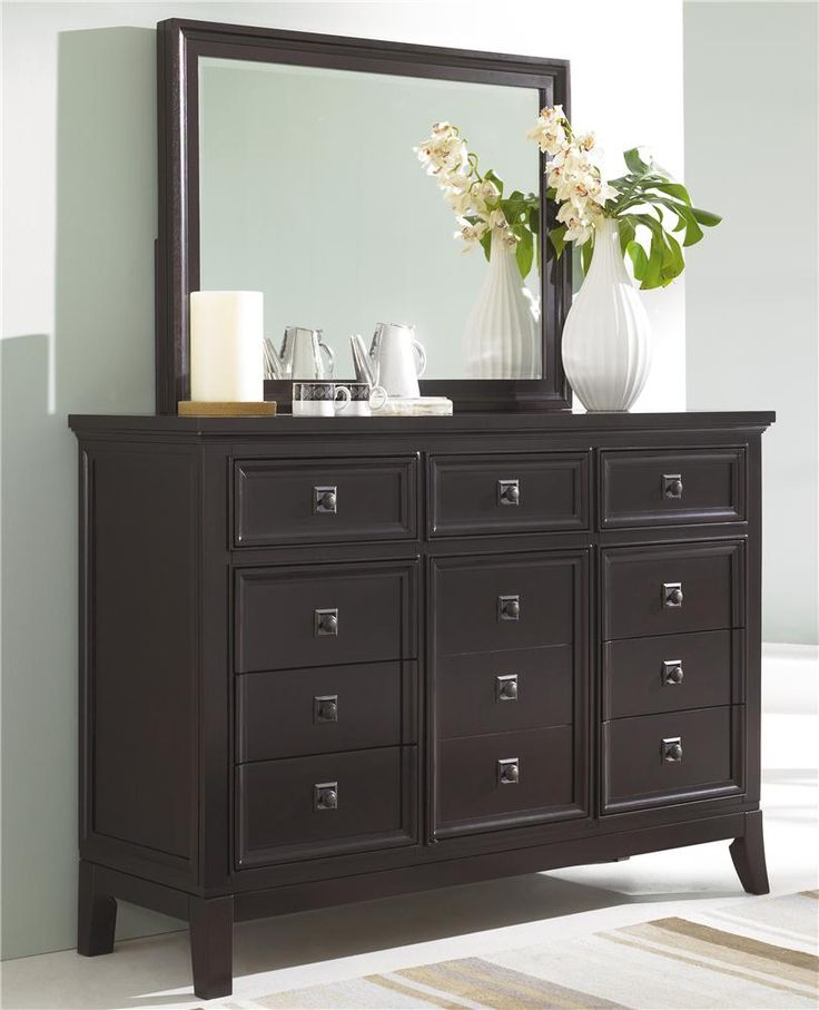 Martini Suite Dresser And Mirror Combination By Ashley Millennium  Www.shopweathers.com