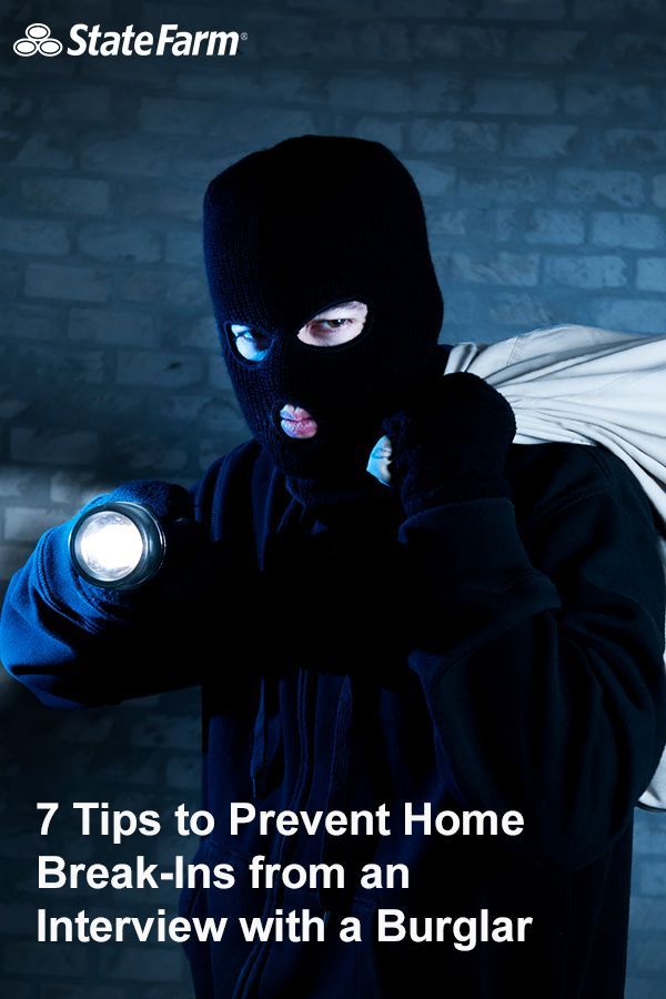 Learn how to prevent home burglary from a former burglar! These 7 tips include simple ideas like keeping the garden area around your house tidy and making sure things stay well-lit outside. Burglars are more likely to choose a home where they can lurk in the shadows. Read on these and more great tips from a former burglar!