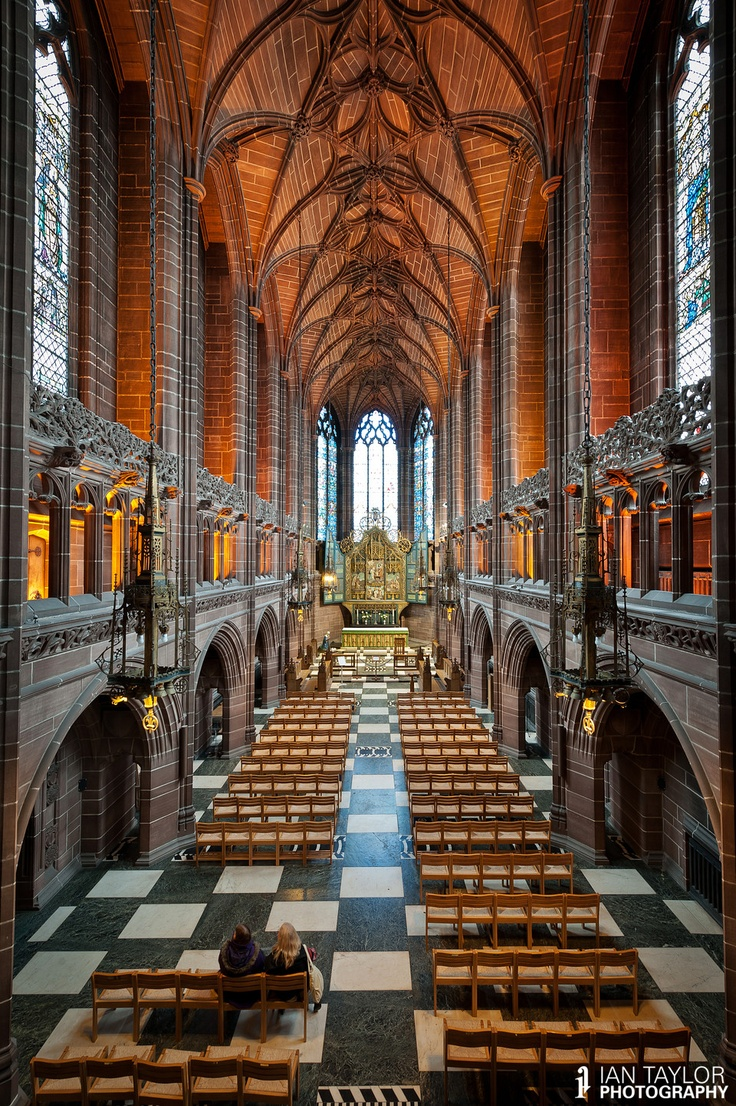 Liverpool Anglican Cathedral. This reminds me of my Graduation day in there!