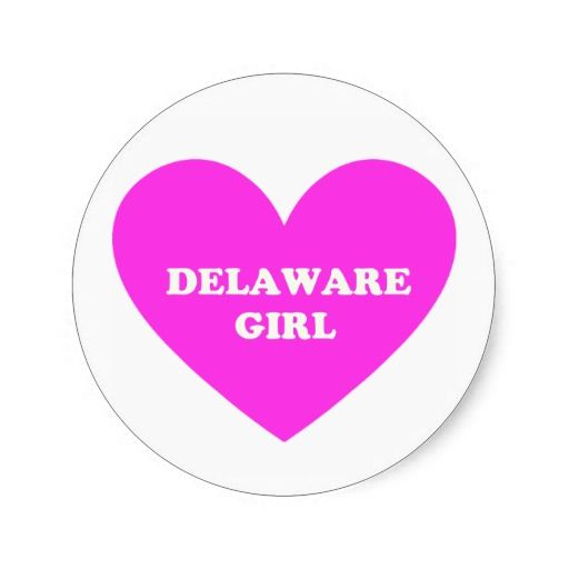 Delaware Girl Stickers