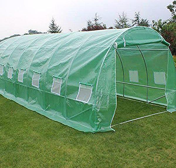 חממה ניילון ביתית סופר גדולה בעלת שלד מתכת וכיסוי פוליאתילן ניילון מחוזק במגוון גדלים לבחירה שומרת על תנאי גידול אופטימליי In 2020 Outdoor Gear Greenhouse Outdoor