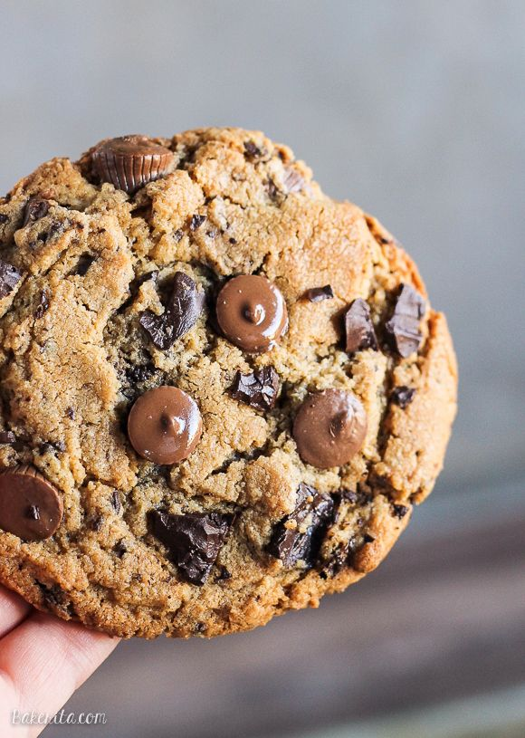 Peanut Butter Cup Chocolate Chunk Cookies - YUM!!