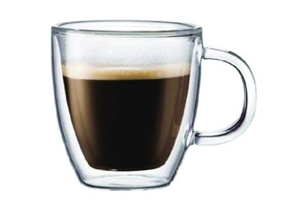 Bodum Bistro Glass Mug set of 2