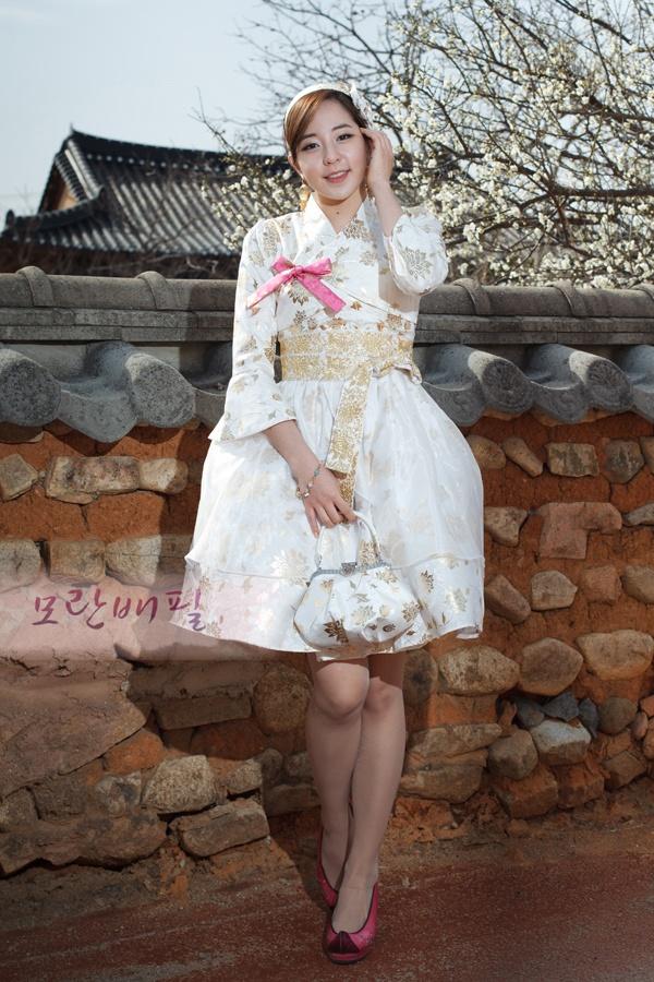 Hanbok cocktail dress - Angel Concept from Hanbok