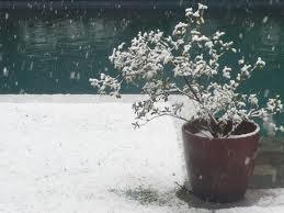 Nieve en Santiago 2011 :)