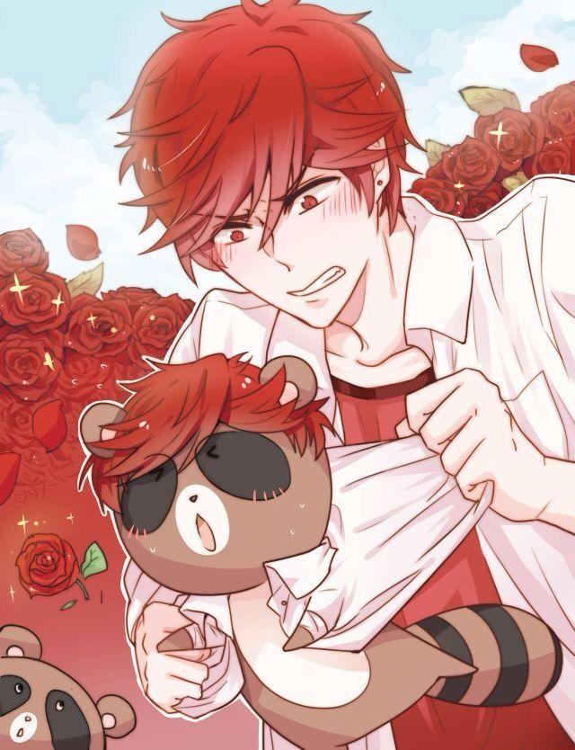 What is Mikorin doing to that tanuki XD | Gekkan Shoujo Nozaki-kun (Monthly Girls)