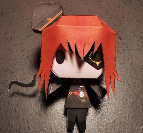 Heart no Kuni no Alice - Chibi Black Joker Free Paper Toy Download - http://www.papercraftsquare.com/heart-no-kuni-no-alice-chibi-black-joker-free-paper-toy-download.html#BlackJoker, #Chibi, #HeartNoKuniNoAlice, #Joker