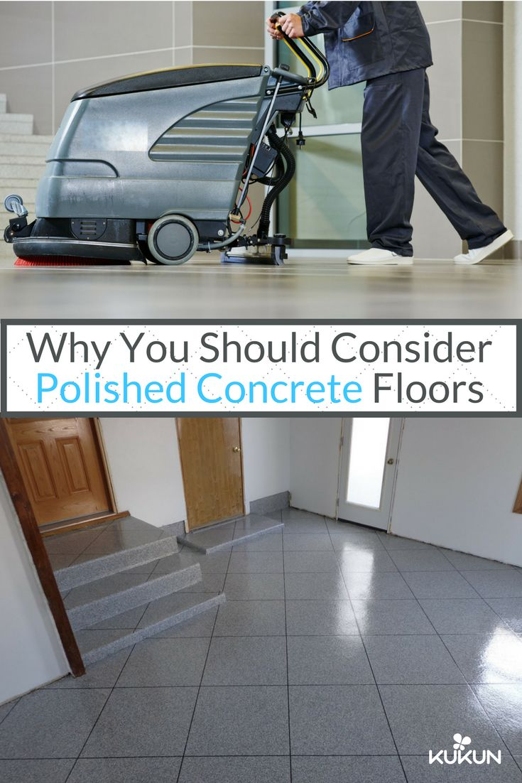 When choosing a flooring option, you need to consider the cost and the functionality. If you use tile or carpet, chances are you will need to replace it in the future, concrete floor polishing is often a much better option due to its durability. [Epoxy Floor Paint, Concrete Floors, Polished Concrete Floors, Gray Floors, Bare White Walls, Wooden Doors, Concrete Baseboard, Why Concrete Floors]