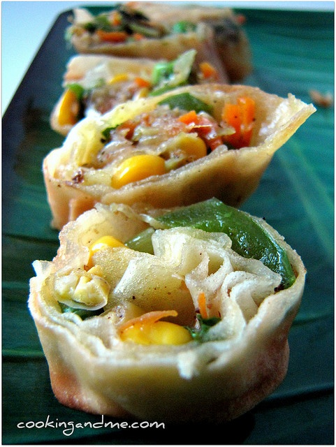 Vegetable Spring Rolls by Nags The Cook, via Flickr