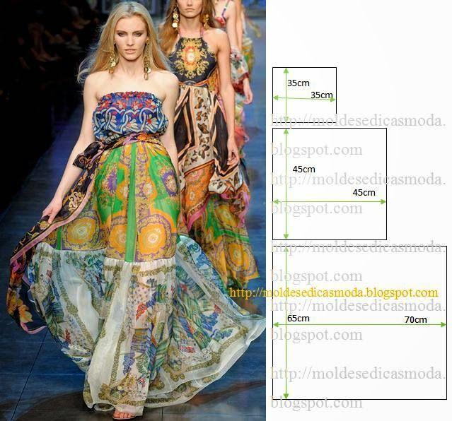 Moldes Moda por Medida: VESTIDO FÁCIL DE FAZER - 30