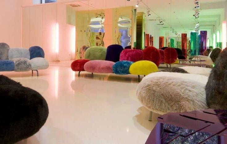 Faux Fur Sofas in 2021   Luxury sofa design, Disco style, Sofa colors
