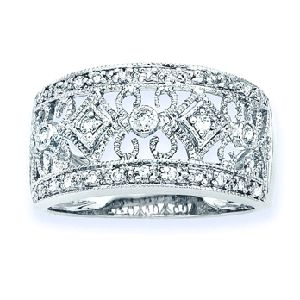 I must have this: Style Rings, Filigree Rings, Cocktails Rings, Diamonds Wedding Band, Beautiful Rings, Anniversaries Rings, Diamonds Rings, Wedding Bands, Wedding Rings
