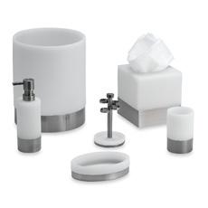 Apex White Bath Ensemble. My new bath set. I like it.