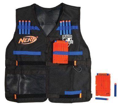 NERF N-Strike Elite Tactical Vest: Amazon.co.uk: Toys & Games