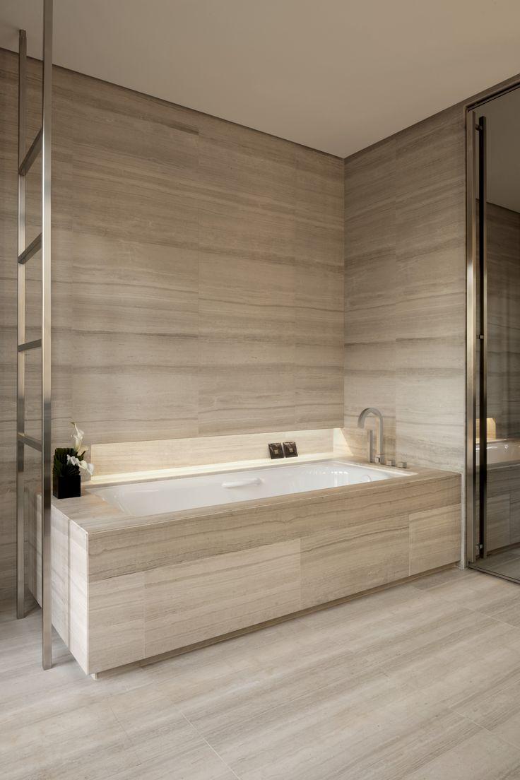 Armani Hotel Milano_bathrooms in Silk Georgette stone.
