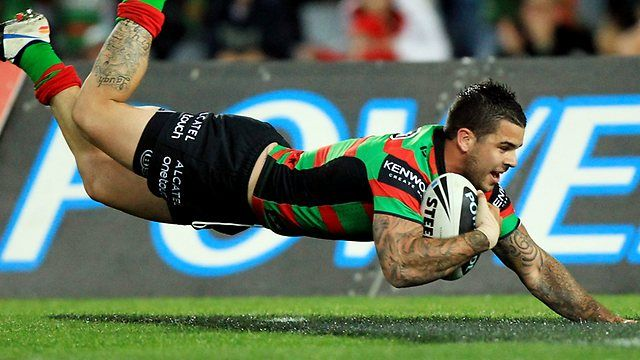 Halfback Adam Reynolds leads South Sydney demolition of Canberra ...