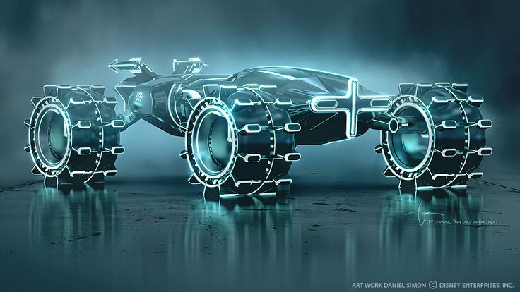 These Tron concept designs still make me dream of an awesome future