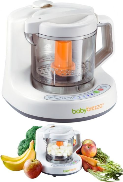 baby brezza baby food mixer and steamer machine one step steamer and mixer steam pinterest steamers mixers and food