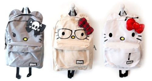 #hello kitty backpacks for the kids