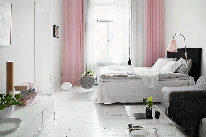 Bilder, Sovrum, Säng, rosa - Hemnet Inspiration