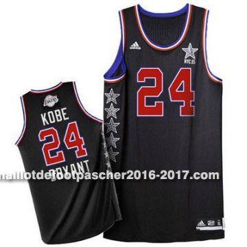 maillot nba pas cher 2015 All-Star Kobi Bryant # 24 Noir