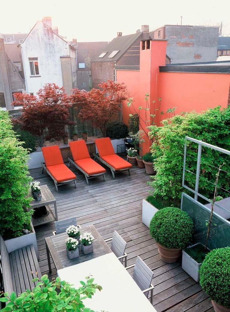 Small Roof Garden 118 best rooftop gardens images on pinterest | rooftop gardens
