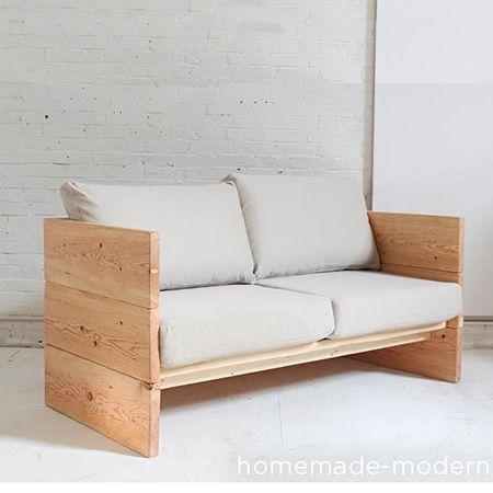 HOME DZINE Home DIY | Make a box sofa using Pine, Meranti or reclaimed wood