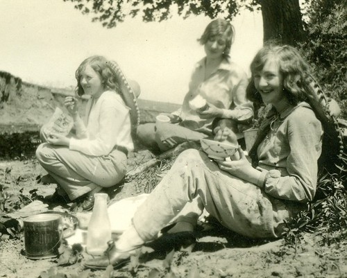 Texas cowgirls circa 1930s