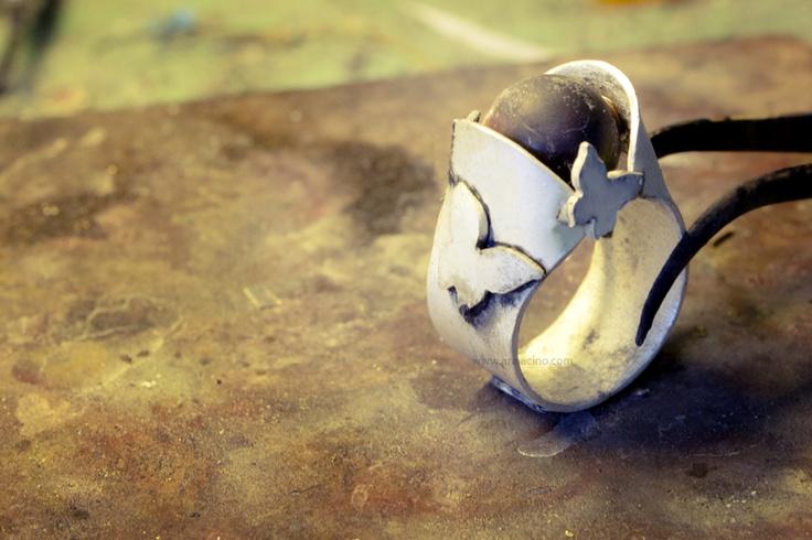 anna cino anello in argento