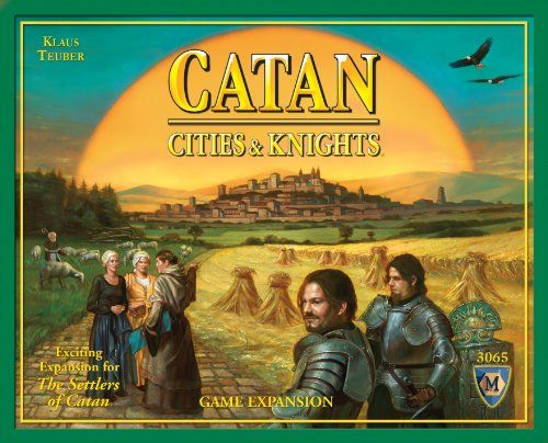 Catan: Cities & Knights Game Expansion 4th Edition Mayfair Games http://www.amazon.com/dp/B000W7I7EW/ref=cm_sw_r_pi_dp_9Rvvwb0N5QP72