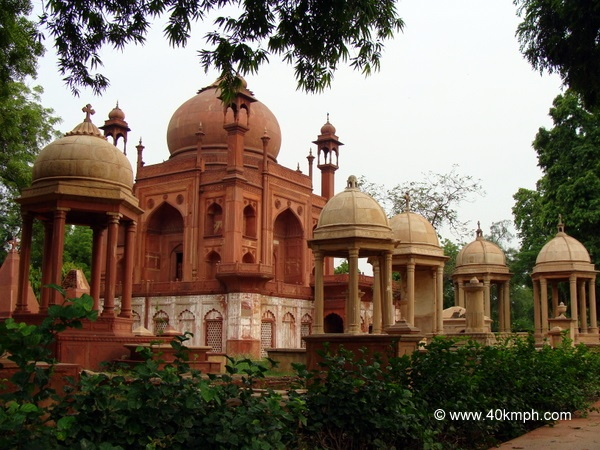 The Red Taj Mahal, Agra - Replica of the Original Taj Mahal. John Hessing's Tomb
