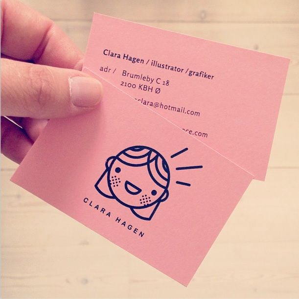 My own personal business card. Logofication of me! Yeah!