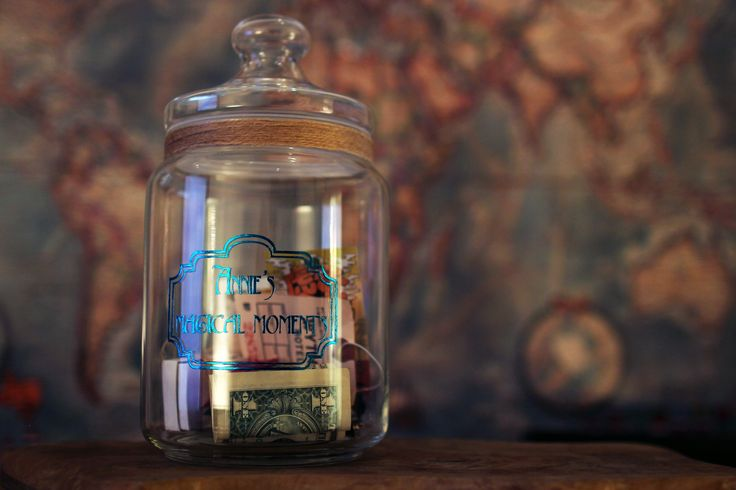 Apothecary Storage Jar is great way to treasure your trinkets, tickets or weird coins