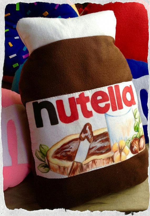 Nutella pillow shaped 45 x 30 cm