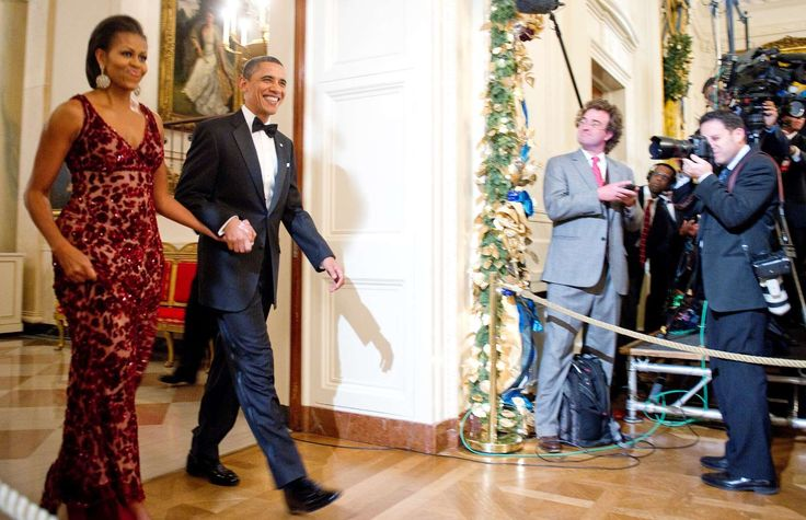 US President Barack Obama (2nd L) and Fi - Jim Watson/AFP/Getty Images
